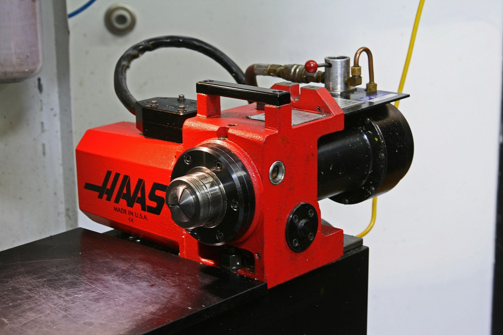 Haas 4th Axis ps