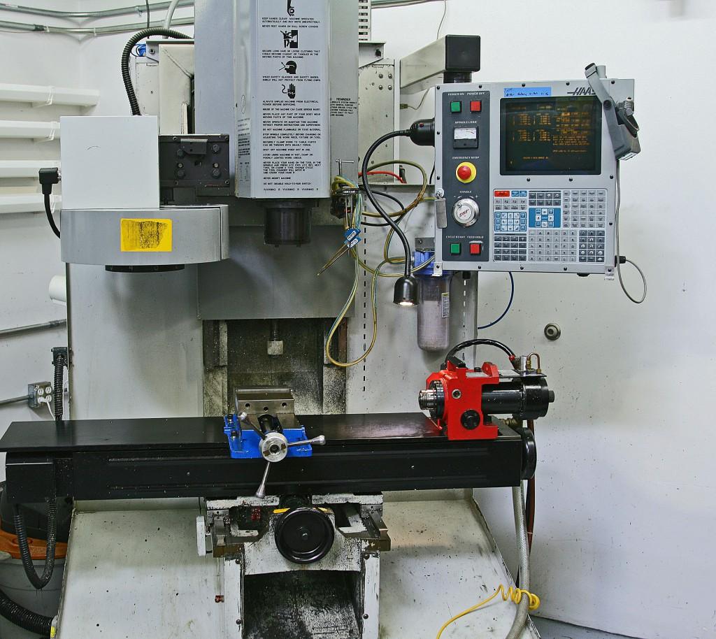 Haas Toolroom Mill ps